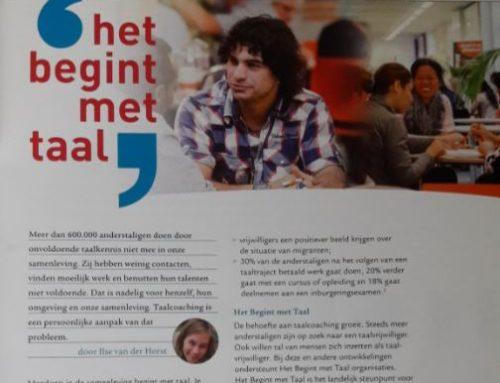 Het Begint met Taal in Dyade magazine