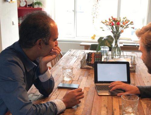Filmpje OPEN Rotterdam: 'Wil jij met mij in gesprek?'