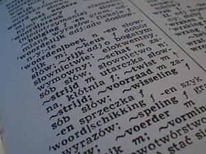 Woordenboekfragment