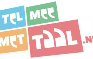 logo tel mee met taal