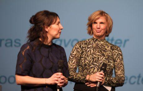 Sylvia de Groot Heupner, directeur Het Begint met Taal en Frederike Bos, adviseur Steunpunt Basisvaardigheden