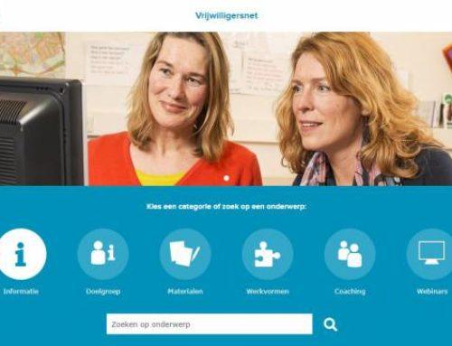 Vrijwilligersnet – nieuwe website voor taalvrijwilligers
