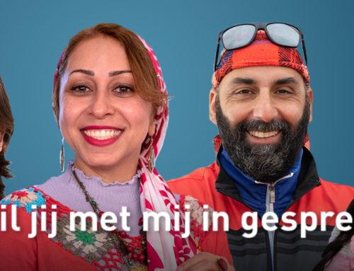 Campagne 'Wil jij met mij in gesprek' gestart