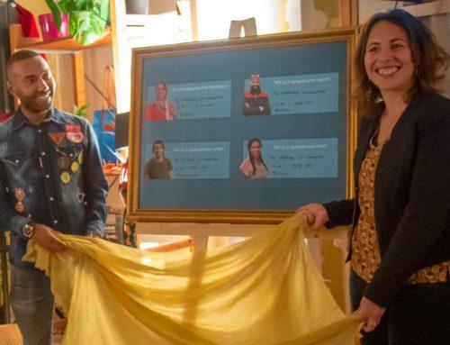 Pop-upwinkel 'Wil jij met mij in gesprek' feestelijk geopend