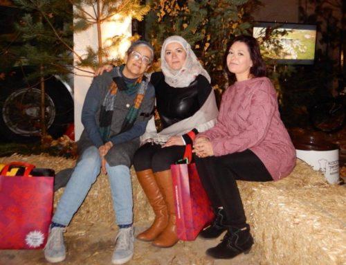 Enthousiaste taalkoppels bij Margriet Winter Fair!