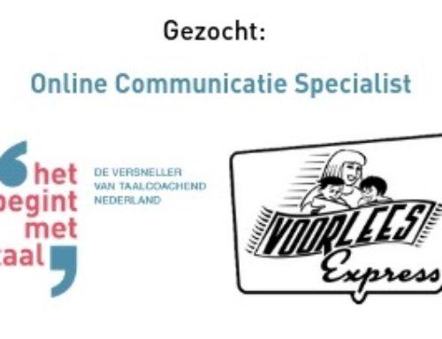 Opdracht communicatie VoorleesExpress & Het Begint met Taal (12 uur per week)